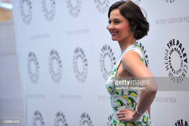 Actress Ashley Judd arrives to The Paley Center for Media presents A Screening of ABC's Missing at The Paley Center for Media on April 10 2012 in...