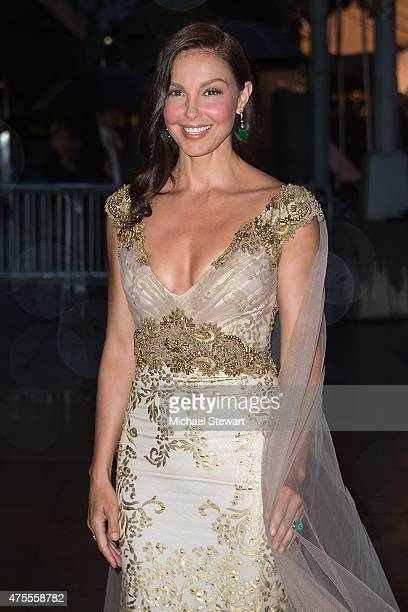 Actress Ashley Judd attends the 2015 CFDA Fashion Awards Sightings at Alice Tully Hall at Lincoln Center on June 1 2015 in New York City