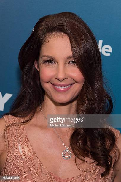 Actress Ashley Judd attends the 2015 Social Good Summit Day 1 at 92Y on September 27 2015 in New York City