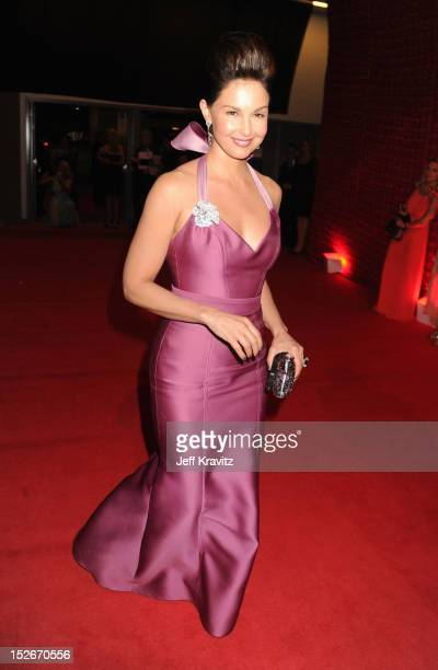 Actress Ashley Judd attends the 64th Primetime Emmy Awards Governors Ball at Los Angeles Convention Center on September 23, 2012 in Los Angeles,...