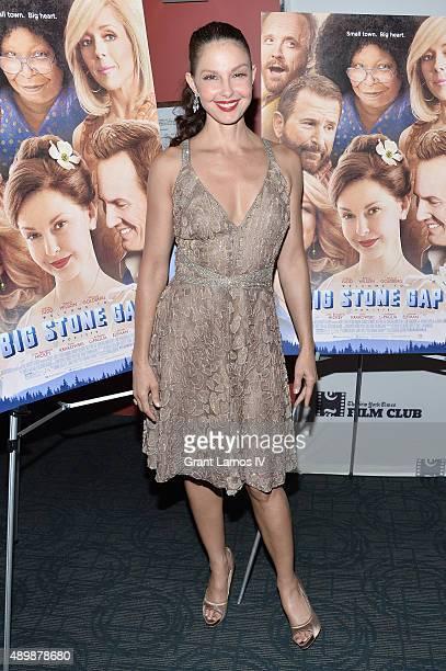 "Actress Ashley Judd attends the ""Big Stone Gap"" New York screening at Sunshine Landmark on September 24, 2015 in New York City."