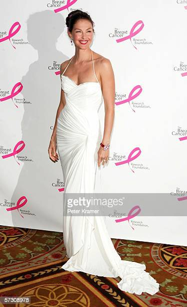Actress Ashley Judd attends the Breast Cancer Research Foundation's Very Hot Pink Party at the Waldorf Astoria on April 10th 2006 in New York City