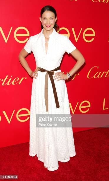 Actress Ashley Judd attends the Cartier And Interview Magazine 'Celebrate Love' party at the Cartier Mansion June 8 2006 in New York City