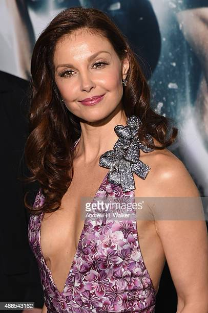 Actress Ashley Judd attends 'The Divergent Series Insurgent' New York premiere at Ziegfeld Theater on March 16 2015 in New York City