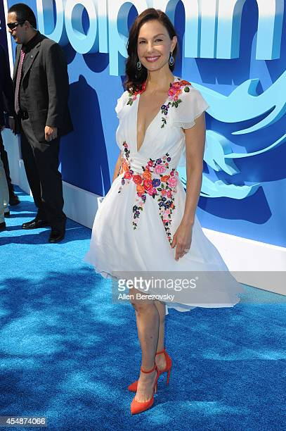 Actress Ashley Judd attends the Los Angeles Premiere of 'Dolphin Tale 2' at Regency Village Theatre on September 7 2014 in Westwood California
