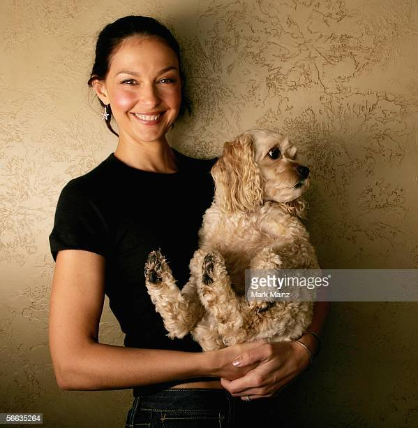 Actress Ashley Judd poses for a portrait the Getty Images Portrait Studio at the 2006 Sundance Film Festival on January 20 2006 in Park City Utah