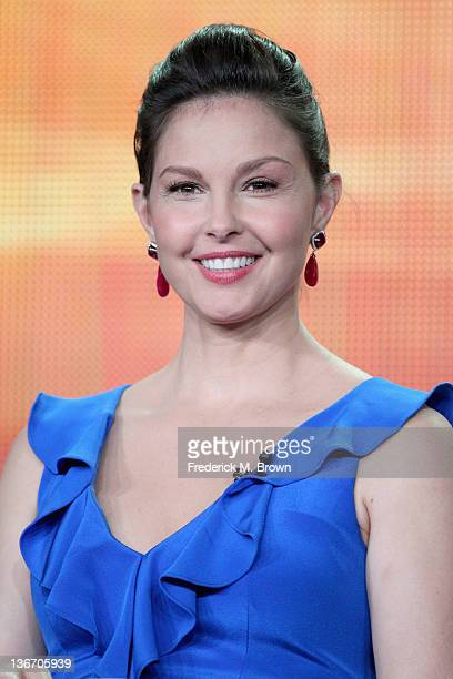 Actress Ashley Judd speaks during the 'Missing' panel during the ABC portion of the 2012 Winter TCA Tour held at The Langham Huntington Hotel and Spa...