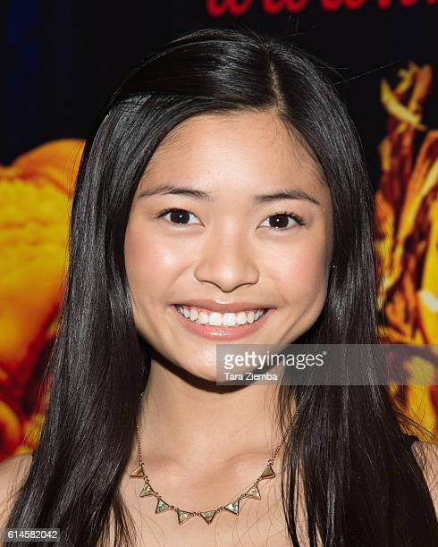 Actress Ashley Liao attends Rise of the Jack O'Lanterns at Los Angeles Convention Center on October 13 2016 in Los Angeles California