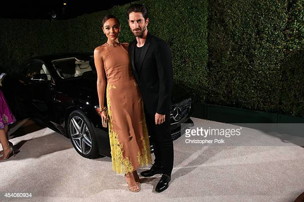 Actress Ashley Madekwe and actor Iddo Goldberg attend Variety and Women in Film Emmy Nominee Celebration powered by Samsung Galaxy on August 23 2014...