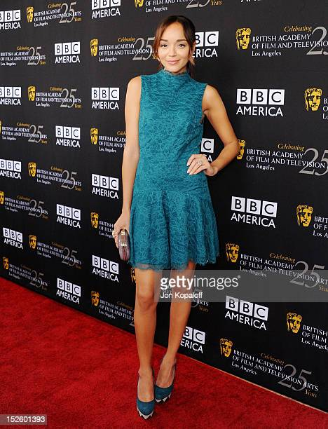 Actress Ashley Madekwe arrives at the BAFTA Los Angeles TV Tea 2012 Presented By BBC America at The London Hotel on September 22, 2012 in West...