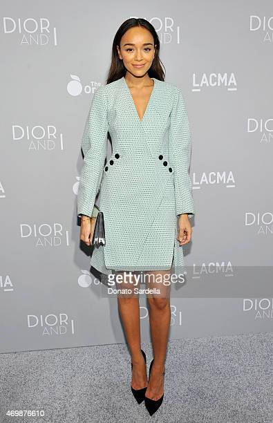 Actress Ashley Madekwe attends Dior And I Los Angeles Premiere at LACMA on April 15 2015 in Los Angeles California
