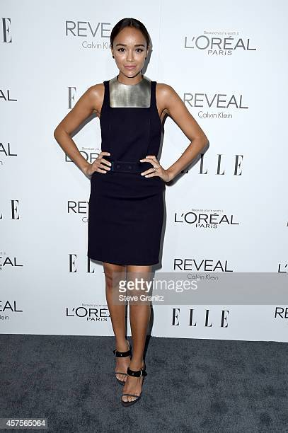 Actress Ashley Madekwe attends ELLE's 21st Annual Women in Hollywood Celebration at the Four Seasons Hotel on October 20 2014 in Beverly Hills...