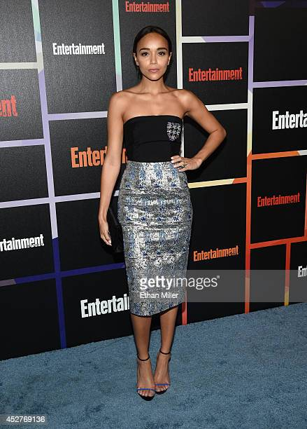 Actress Ashley Madekwe attends Entertainment Weekly's annual ComicCon celebration at Float at Hard Rock Hotel San Diego on July 26 2014 in San Diego...