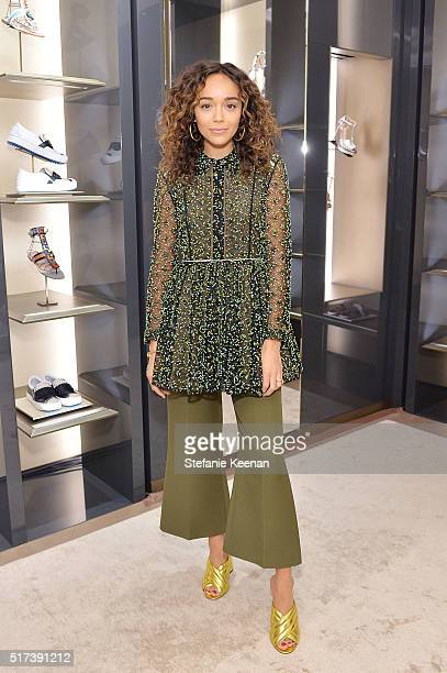 Actress Ashley Madekwe attends Fendi And Vogue Celebrate Fendi Beverly Hills at Fendi on March 24 2016 in Beverly Hills California