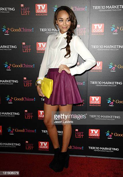Actress Ashley Madekwe attends the 2011 TV Guide Magazine Hot List Party at Greystone Manor Supperclub on November 7, 2011 in West Hollywood,...