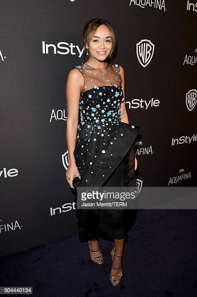 Actress Ashley Madekwe attends The 2016 InStyle And Warner Bros 73rd Annual Golden Globe Awards PostParty at The Beverly Hilton Hotel on January 10...