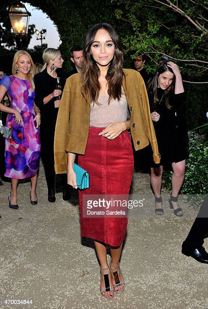 Actress Ashley Madekwe attends the Burberry 'London in Los Angeles' event at Griffith Observatory on April 16 2015 in Los Angeles
