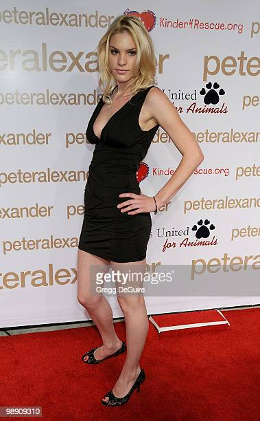 Actress Ashley Madison arrives at the Peter Alexander Flagship Boutique Grand Opening And Benefit on October 22, 2008 in Los Angeles, California.
