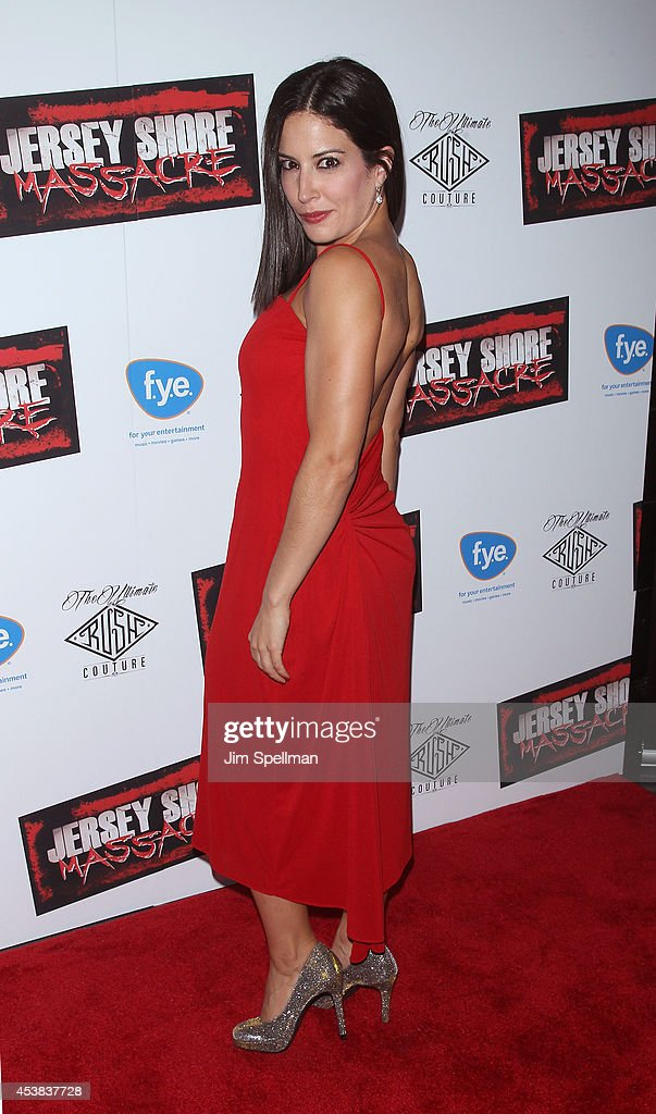 Actress Ashley Mitchell attends the 'Jersey Shore Massacre' New York Premiere at AMC Lincoln Square Theater on August 19, 2014 in New York City.