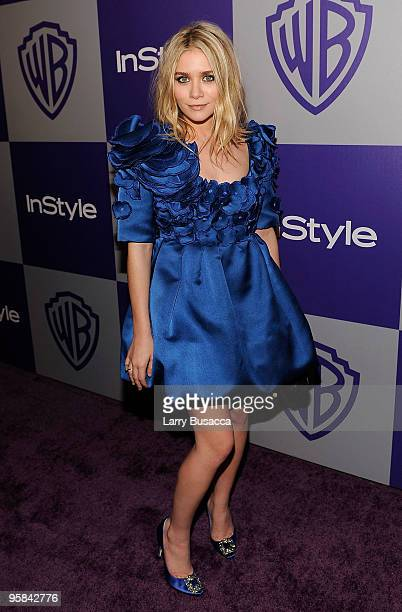 Actress Ashley Olsen attends the InStyle and Warner Bros 67th Annual Golden Globes postparty held at the Oasis Courtyard at The Beverly Hilton Hotel...