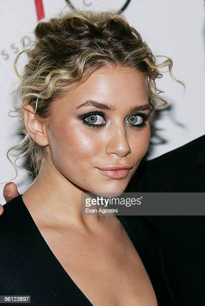 Actress Ashley Olsen is honored with the 'Excellence Award' at The Accessories Council 9th Annual ACE Awards gala at Cipriani's 42nd Street November...