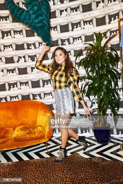 Actress Ashley Park is photographed for Alice and Olivia on September 21 2018 in New York City