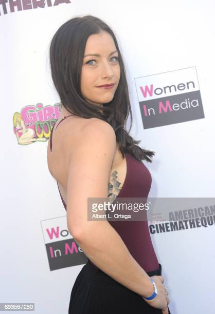 Actress Ashley Platz arrives for Etheria Film Night held at The Egyptian Theatre on June 3 2017 in Los Angeles California