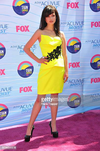Actress Ashley Richards arrives at the 2012 Teen Choice Awards held at the Gibson Amphitheatre in Universal City California