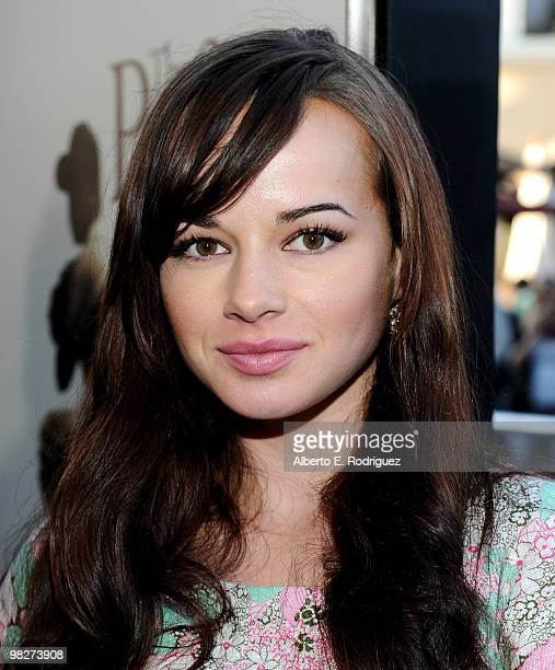Actress Ashley Rickards arrives at the premiere of IndustryWorks' 'The Perfect Game' on April 5 2010 in Los Angeles California