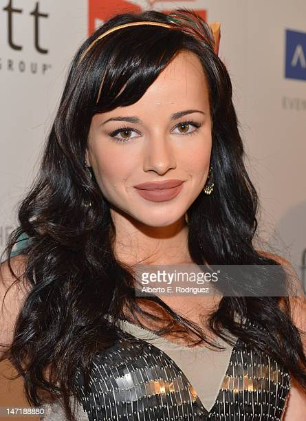 Actress Ashley Rickards arrives to The Thirst Project's 3rd Annual Gala at The Beverly Hilton Hotel on June 26 2012 in Beverly Hills California