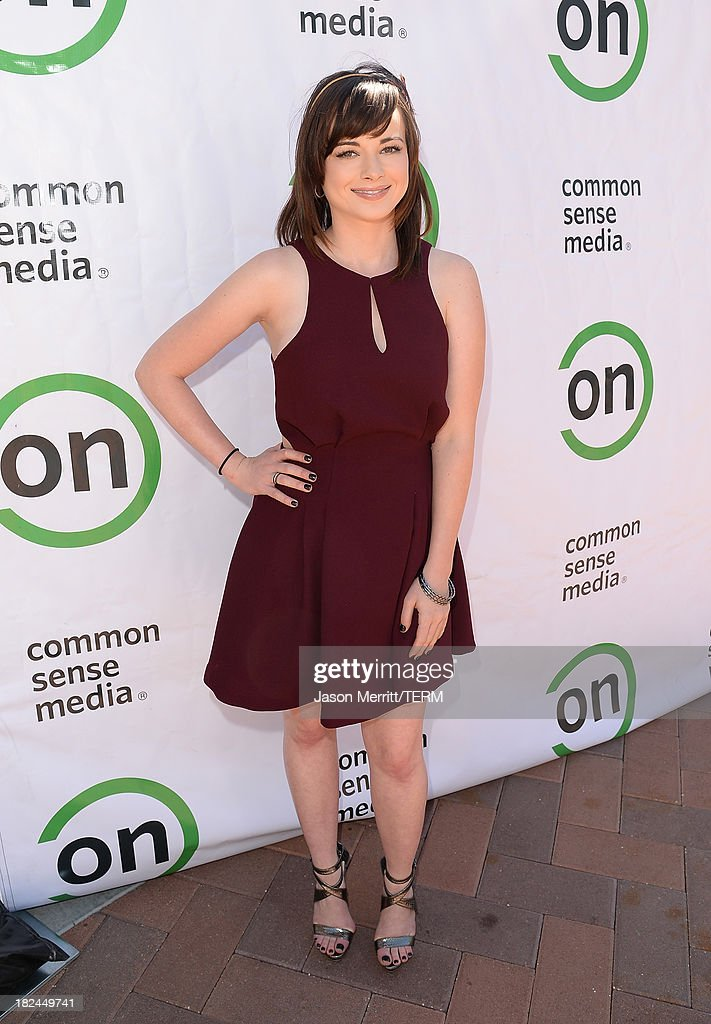 Actress Ashley Rickards attends the 2nd Annual GameOn! fundraiser hosted by Common Sense Media at Sony Pictures Studios on September 29, 2013 in Culver City, California.