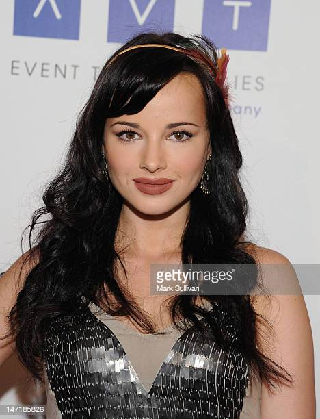 Actress Ashley Rickards attends The Thirst Project 3rd Annual Gala at The Beverly Hilton Hotel on June 26 2012 in Beverly Hills California