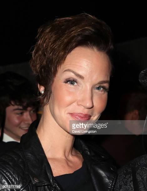 Actress Ashley Scott attends a screening of 'A Tale of Two Coreys' at ArcLight Sherman Oaks on January 4 2018 in Sherman Oaks California