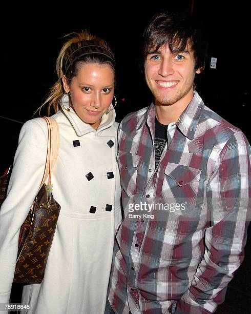 Actress Ashley Tisdale and actor Jared Murillo attend Venice Magazine's after party for The Catholic Girl's Guide to Losing Your Virginity opening...