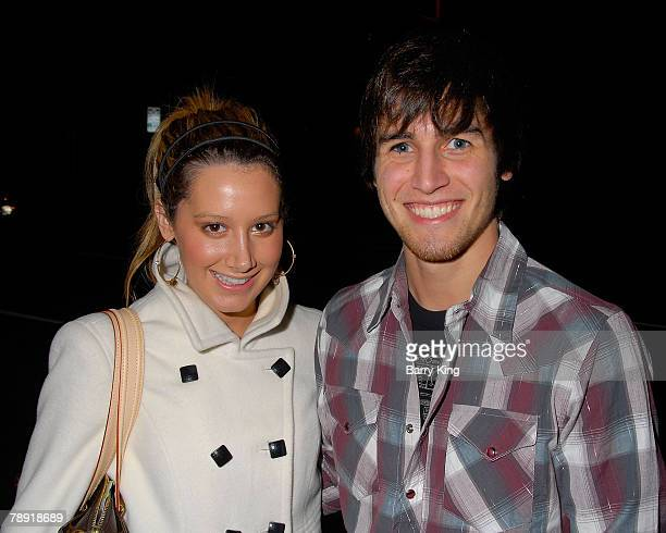 LOS ANGELES CA JANUARY 11 Actress Ashley Tisdale and actor Jared Murillo attend Venice Magazine's after party for The Catholic Girl's Guide to Losing...