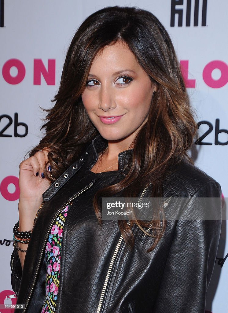 Actress Ashley Tisdale arrives at NYLON Magazine's May Issue Young Hollywood Launch Party at The Roosevelt Hotel on May 12, 2010 in Hollywood, California.