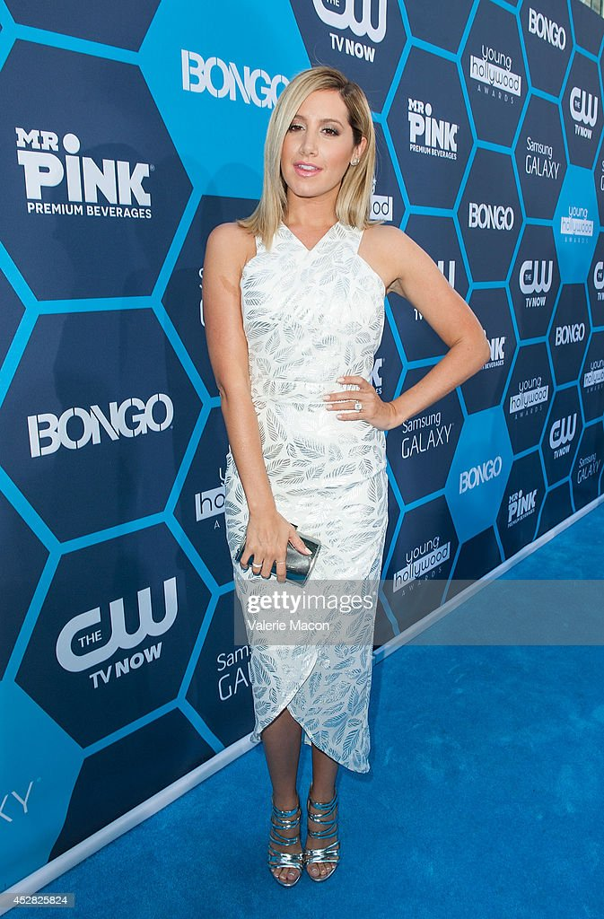 Actress Ashley Tisdale arrives at the 16th Annual Young Hollywood Awards at The Wiltern on July 27, 2014 in Los Angeles, California.