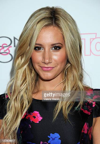 Actress Ashley Tisdale arrives at the In Touch Weekly's 4th Annual Icons Idols Celebration on August 28 2011 in West Hollywood California