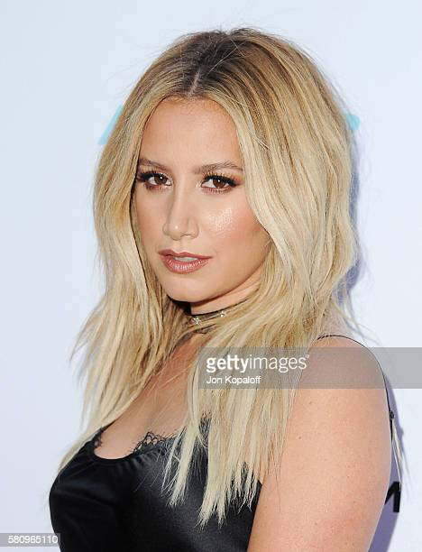 Actress Ashley Tisdale arrives at the Los Angeles Premiere of Amateur Night at ArcLight Hollywood on July 25 2016 in Hollywood California