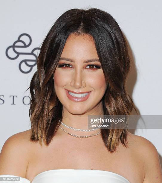 Actress Ashley Tisdale arrives at Variety's Power Of Women Los Angeles at the Beverly Wilshire Four Seasons Hotel on October 13 2017 in Beverly Hills...