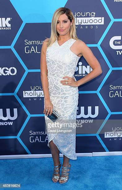 Actress Ashley Tisdale attends the 16th Annual Young Hollywood Awards at The Wiltern on July 27 2014 in Los Angeles California