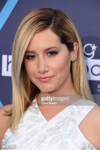 Actress Ashley Tisdale attends the 2014 Young Hollywood Awards brought to you by Samsung Galaxy at The Wiltern on July 27 2014 in Los Angeles...