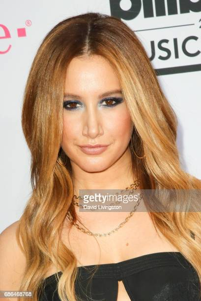 Actress Ashley Tisdale attends the 2017 Billboard Music Awards at the TMobile Arena on May 21 2017 in Las Vegas Nevada