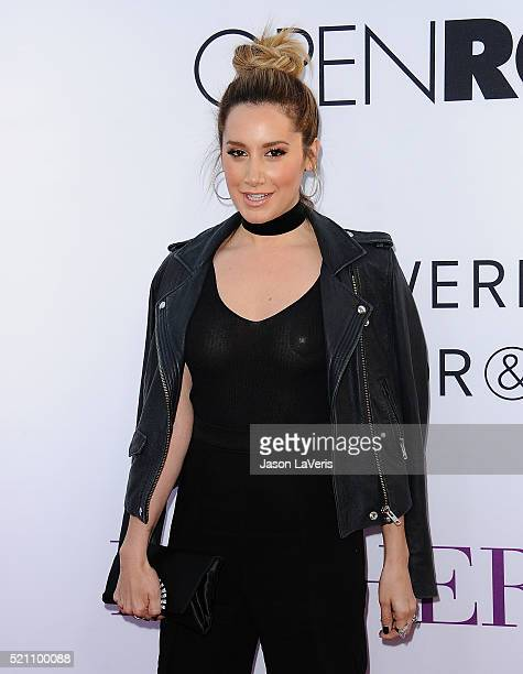 Actress Ashley Tisdale attends the premiere of 'Mother's Day' at TCL Chinese Theatre IMAX on April 13 2016 in Hollywood California