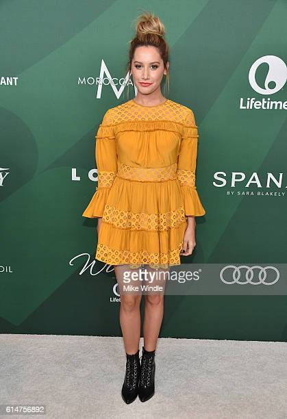 Actress Ashley Tisdale attends Variety's Power of Women Luncheon 2016 at the Beverly Wilshire Four Seasons Hotel on October 14 2016 in Beverly Hills...