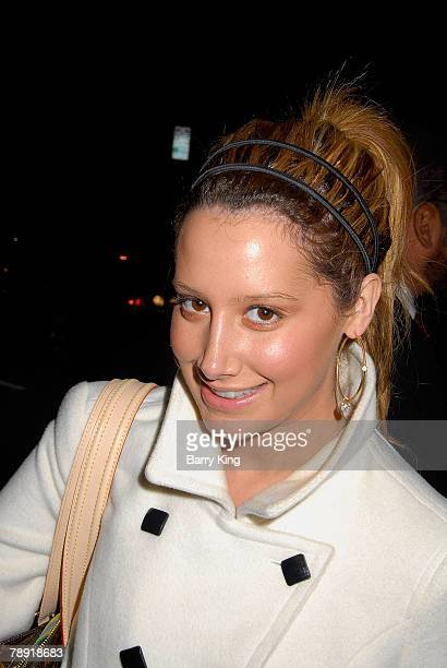 LOS ANGELES CA JANUARY 11 Actress Ashley Tisdale attends Venice Magazine's after party for The Catholic Girl's Guide to Losing Your Virginity opening...