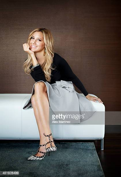 Actress Ashley Tisdale is photographed for Jezebel Magazine on September 12 2012 in Atlanta Georgia