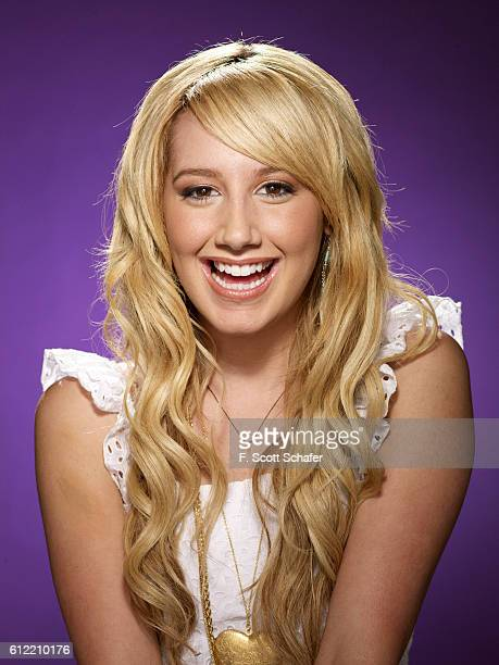 Actress Ashley Tisdale is photographed in 2006