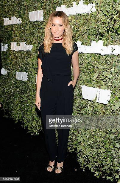 Actress Ashley Tisdale wearing Max Mara attends Max Mara Celebrates Natalie Dormer The 2016 Women In Film Max Mara Face Of The Future at Chateau...