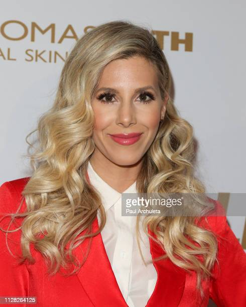 Actress Ashley Wahler attends the 2019 PreGRAMMY event presented by OK Star In Touch and Life Style magazines at the Liaison Restaurant on February...